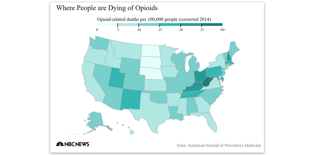 Where People Are Dying of opioids - Story Map